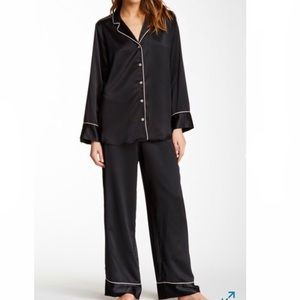 Natori   HOT PINK Satin Pajama Set   Size XL